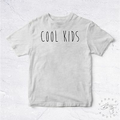 a17e4ef919c14 NEW Tee Shirt Cool Kids BIO Tumblr Swag Wtf Enfants Nice Fresh Funk School  Ecole