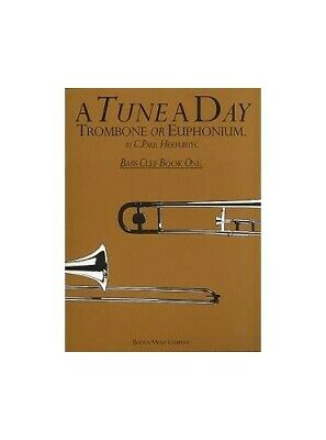 A Tune A Day For Trombone Or Euphonium Bass Clef Book One Book The Cheap Fast