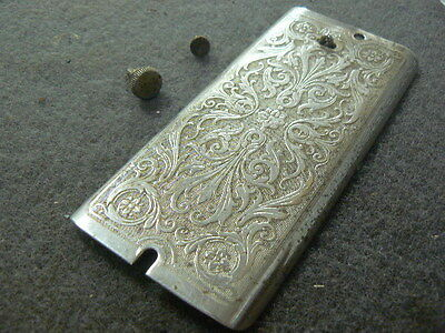 Antique 1928 Singer 99 SIMANCO USA Sewing Machine Face Plate Engraved Scrollwork