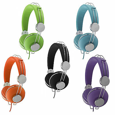Cuffie Auricolari Stereo Audio Pc Notebook Tablet Mp3 Smartphone Iphone Ipod