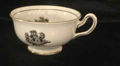 Royal Chelsea Cup Only Black Toile Couple Man & Woman On Bench 1375 Tea H Fennel