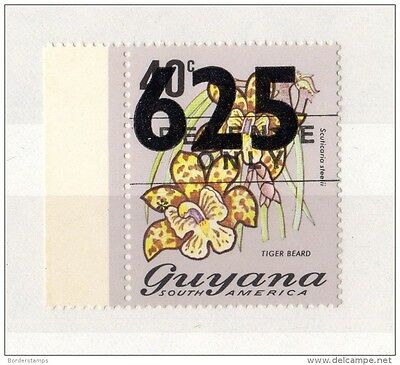 Guyana 1981 Surcharge Issue SG839 MNH X610