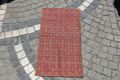 Antique Original Perfect Bulgarian Cotton And Silk Decorated Textile