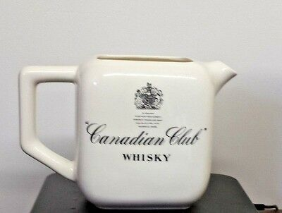 Canadian Club Whisky Collectible Pitcher Free Shipping