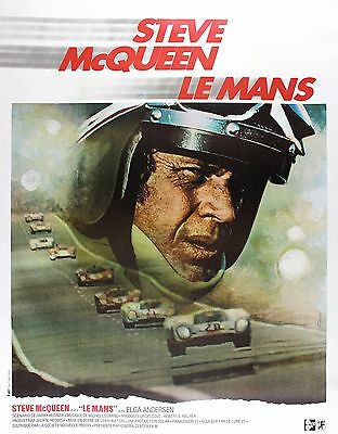 """LE MANS""..Poster 2.. Steve McQueen ..Classic Movie Poster A1A2A3A4Sizes"