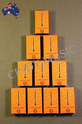 10PCS New XINZHONG Clarinet Reeds bB 10 piece of packaging