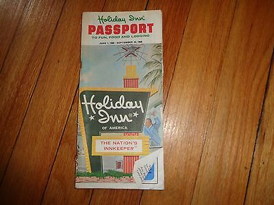 Holiday Inn Directory 1968 Hotel Motel Guide