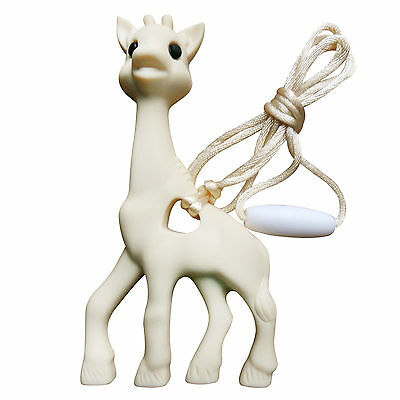 Giraffe Silicone Teething Necklace Toy: Excellent Value For Your Baby Teether!