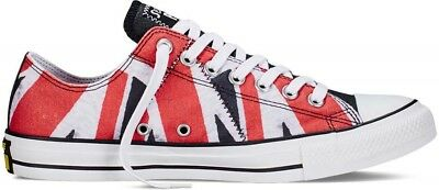 Converse Sex Pistols Chuck Taylor Distressed UK Flag Oxford Lo Sneakers