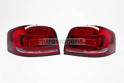 Audi A3 04-10 OEM Dark Red Rear Tail Lights Lamps Pair Set Left Right Upgrade
