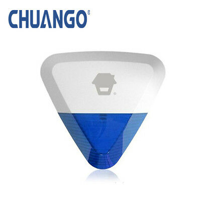 Chuango WS-280 Wireless Outdoor Mains Powered Strobe Siren Home Security Alarms