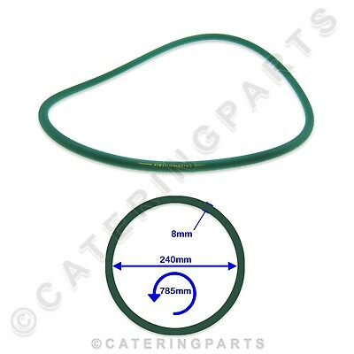 Fimar Co1852 Green Rubber Round Drive Belt For Fi40 Fp30 Pizza Dough Roller