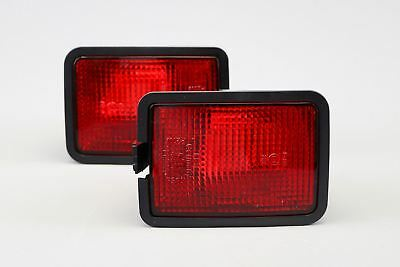 VW Transporter T4 Caravelle 90-03 Rear Fog Lights Lamps Pair Set Left Right OEM