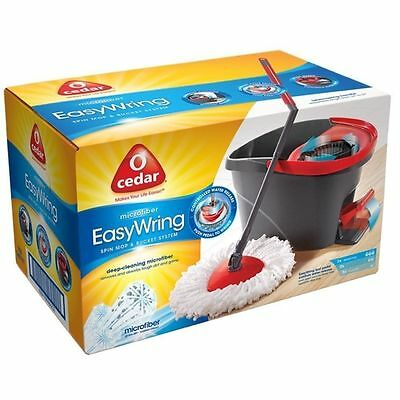 O'Cedar Original EasyWring Spin Mop & Bucket Cleaning System + Free Shipping