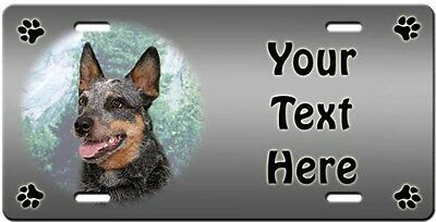 Australian Cattle Dog Personalized License Plate