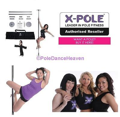 ✓ THE X-POLE SPORT - Static X-Pole - Available in 40mm, 45mm, and 50mm ✓