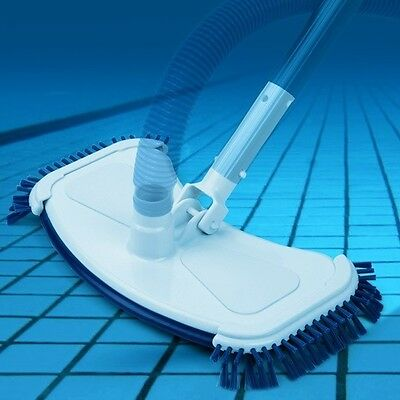 Pool Suction Brush Cleaner Floor Dirt Side Brushes Summer Swimming Safety New