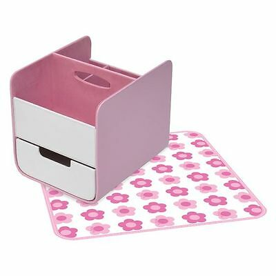 NEW b.box Nappy Caddy, Pretty In Pink