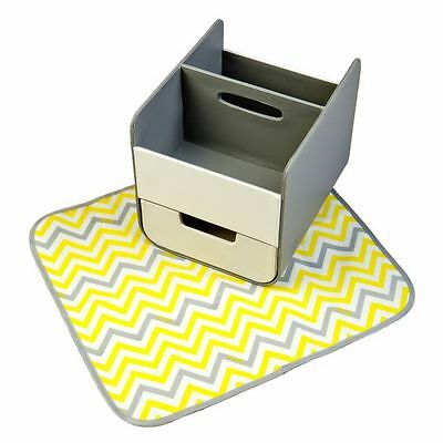 NEW b.box Nappy Caddy, Mellow Yellow