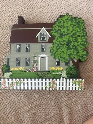 SHelia's THE OLD MANSE House CONCORD, MA. Emerson Hawthorne Wood 3D Sop98