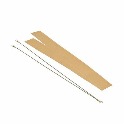 "24"" Hand Impulse Sealer Repair Kit 2 Element & 2 Teflon Cloth Set,FITS ANY BRAND"