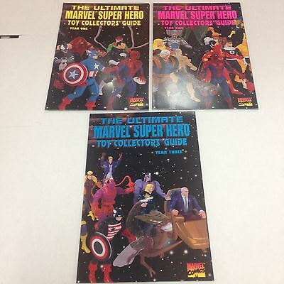 The Ultimate Marvel Super Hero Toy Collector's Guide Year One, Two, Three