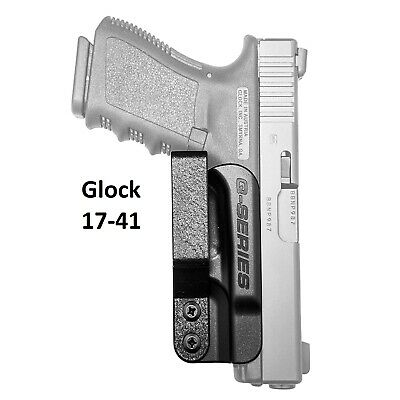 Q-SERIES IWB MINIMALIST Concealed Carry Holster for Glock Standard Frame  17-41