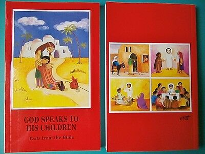 Child's First Catholic BIBLE God Speaks To His Children Baptism Communion Gifts