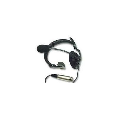 Asl - Hs1/d - Headset, Single Side With Xlr4