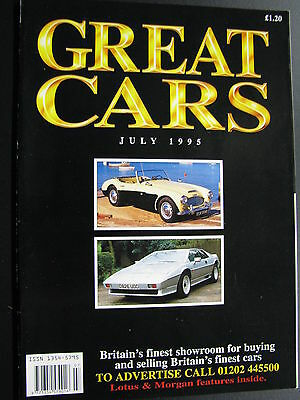 Magazine Great Cars July 1995 (English) (JS)