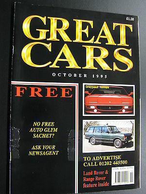 Magazine Great Cars October 1995 (English) (JS)
