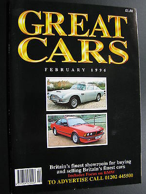 Magazine Great Cars February 1996 (English) (JS)