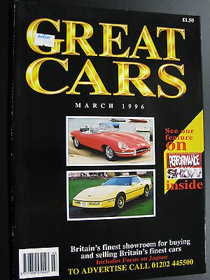 Magazine Great Cars March 1996 (English) (JS)