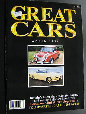 Magazine Great Cars April 1996 (English) (JS)