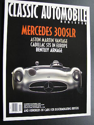 Magazine Classic Automobile Register Issue Oct / Nov 1998 (English) (JS)