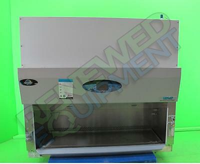 NuAire NU-S435-500 Class II Type B2 Biological Safety Cabinet Hood & Stand
