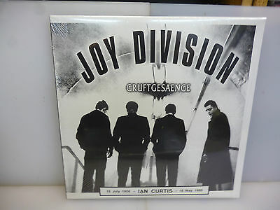 Joy Division-Gruftgesaenge. Holland 1980+ 1978 Demos +....-2Lp Vinyl-New.sealed