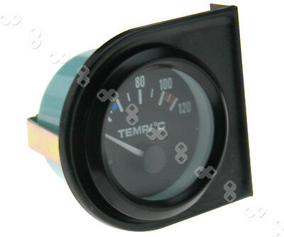 Car Water Temperature Gauge 40-120℃ Meter Dials Temp Motor Pointer