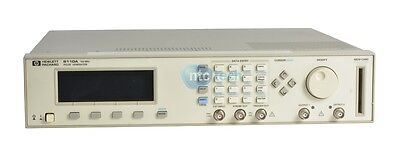 HP Agilent 8110A Pulse Pattern Generator 150 MHz With 2x 81103A Grade C