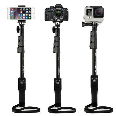 Long Extendable Handheld Bluetooth Selfie Stick Monopod Zoom for iPhone Samsung