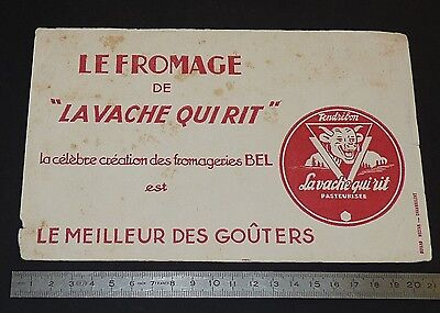 Buvard 1950 Fromage La Vache Qui Rit Fromageries Bel