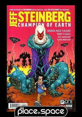 Jeff Steinberg Champion Of Earth #1B - Variant (Wk31)