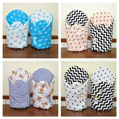 Baby Newborn Wrap/two sided/ sleeping bag/ you will love it/mat/pink/mint