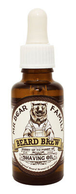 (63,30€/100 ml)Mr. Bear Family BEARD BREW SHAVING OIL Rasieröl