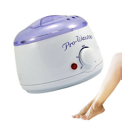 Pro Wax Heater Leg Body Nail Pot Waxing Warmer Beauty Salon Home Machine 400ml