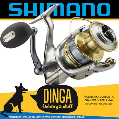 Shimano Biomaster SW-A 5000 XG Spinning Fishing Reel NEW