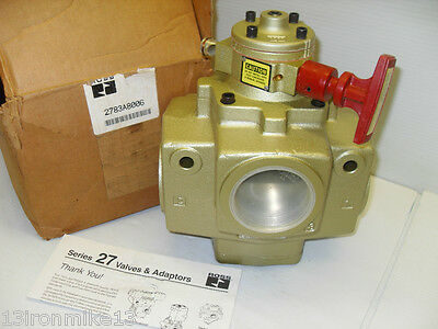"""**NEW IN BOX** ROSS 2783A8006 Series 27 PNEUMATIC Pilot Lock-Out Valve 1-1/2""""NPT"""