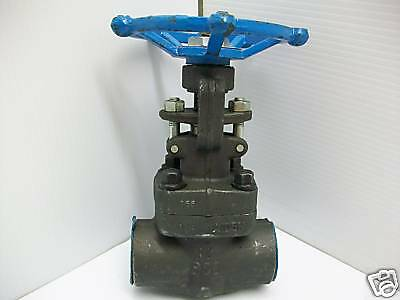"New Sharpe Gate Valve 34834 1-1/4""npt 1975-Psi A105"