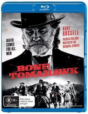 Bone Tomahawk - Blu Ray Region B Free Shipping!