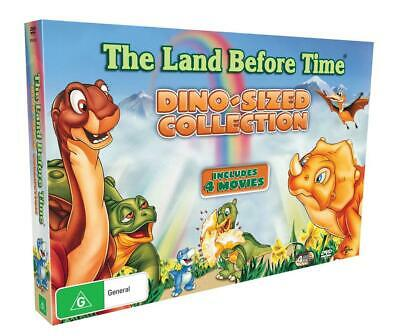 Land Before Time Collection, 4 Disc Pack - DVD Region 4 Free Shipping!